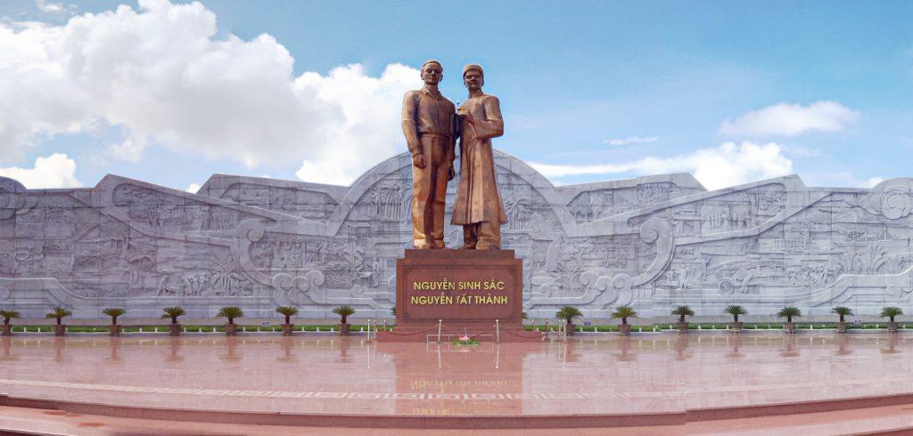 Quảng trường Nguyễn Tất Thành tại Quy Nhơn