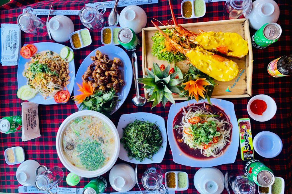 Nhà hàng Quang Anh - Đầm Ô Loan