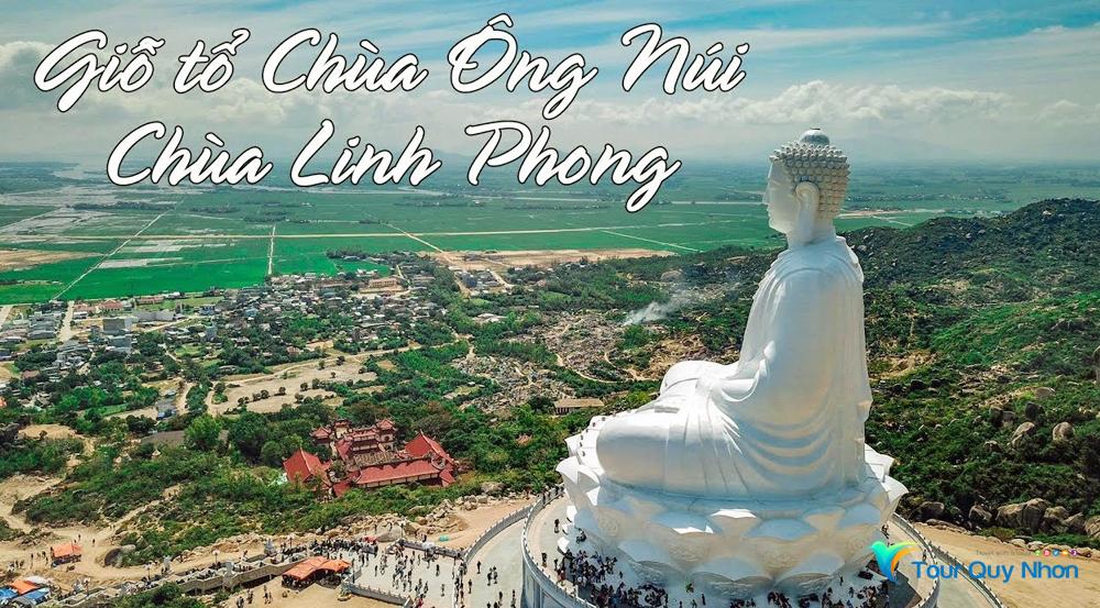 Chùa Linh Phong trên Ông Núi Bình Định Quy Nhơn